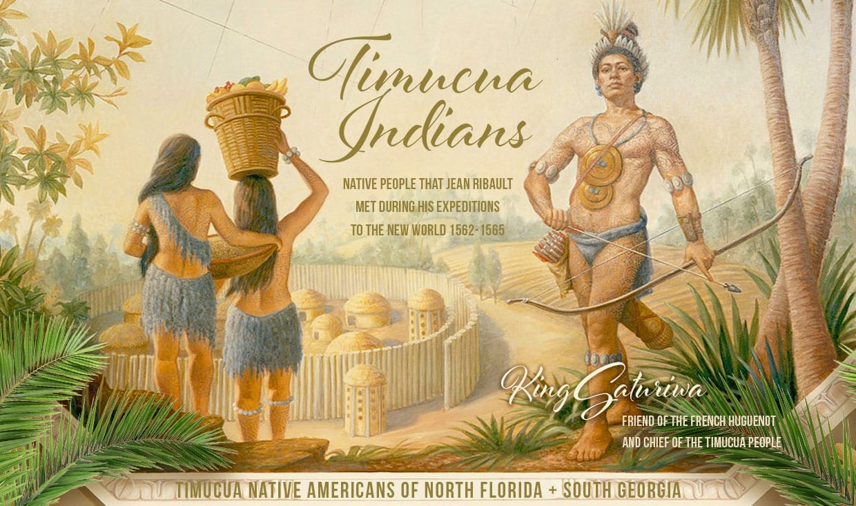 Timucua Indians of North Florida | Friends of Jean Ribault and Huguenot Colonists