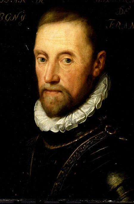 Admiral Gaspard de Coligny - Huguenot Leader and Hero - Murdered by Catholics 1572