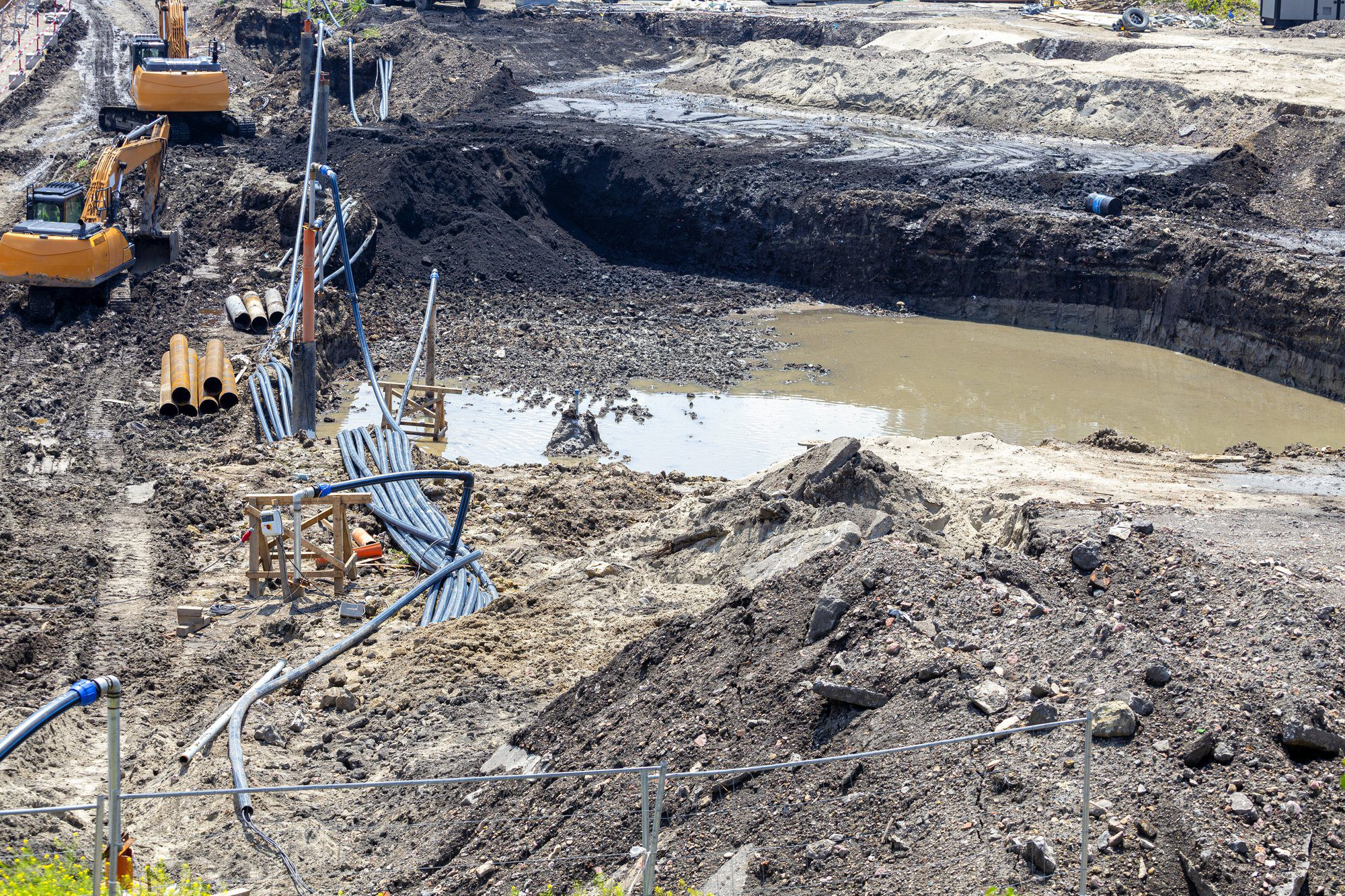Groundwater Control – 3 Tips To Manage Groundwater On Construction Sites