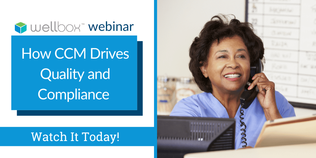 Adopting CCM can benefit your practice in improving quality scores while driving compliance. Discover how in this recorded webinar.